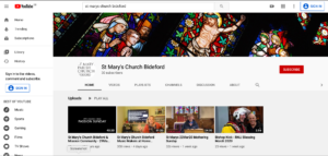 click to visit the Bideford & 4 Villages Mission Community YouTube Channel